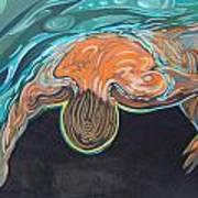 Underwater Swimmer. Part II     Art Print