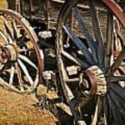Unequal Wheels Art Print