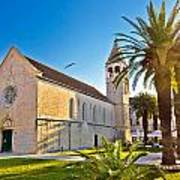 Unesco Town Of Trogir Church View Art Print