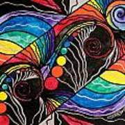 Unfold Art Print by Teal Eye  Print Store