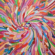Unfolding Melody Art Print