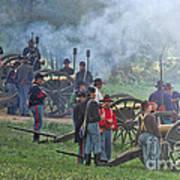 Union Artillery Battery Art Print