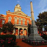 Union County Court House Art Print