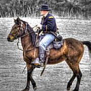 Union Horse Officer Art Print
