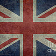 Union Jack 3 By 5 Version Art Print