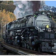 Union Pacific 4-8-8-4 Big Boy Art Print