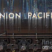 Union Pacific - Big Boy Tender Art Print