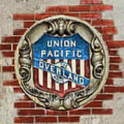 Union Pacific Crest Art Print