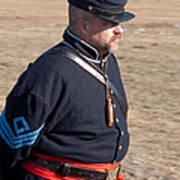 Union Soldier At Brooksville Raid Art Print