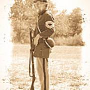 Union Soldier Art Print