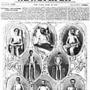 Union Soldiers Released  June 1864 Art Print by Daniel Hagerman