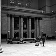 Union Station Chicago The Great Hall Art Print
