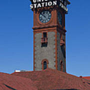 Union Station In Portland Oregon Art Print