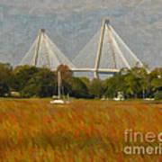 Unique Bridge View Art Print