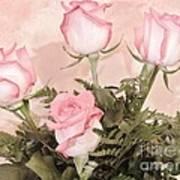 Unique Roses Art Print