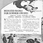 United Fruit Company, 1922 Art Print