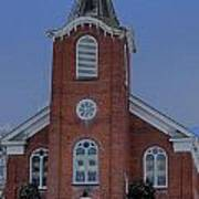 United Methodist Church Lowville Ny Art Print