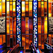 United States Air Force Academy Cadet Chapel Detail Art Print