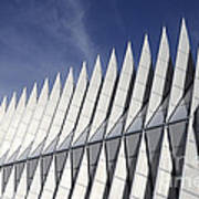 United States Airforce Academy Chapel Colorado Art Print
