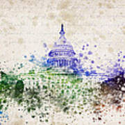 United States Capitol Print by Aged Pixel