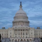 United States Capitol Building Art Print by Kim Hojnacki