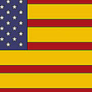 United States Of Iberia Art Print