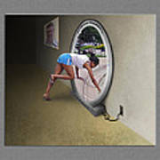 Universal Portal Art Print