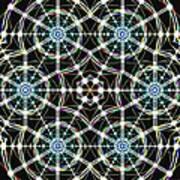 Universal Web Matrix Art Print