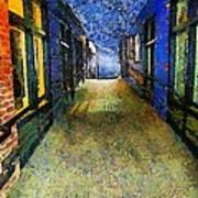 Universe Alley Art Print