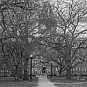 University Hall And Pathway Osu Art Print