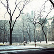 University Of Chicago 1976 Art Print by Joseph Duba