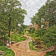 University Of North Alabama Campus Art Print