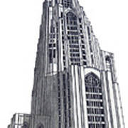 University Of Pittsburgh Art Print