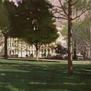 University Of South Carolina Horseshoe 1984 Art Print