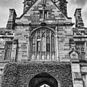 University Of Sydney-black And White V4 Art Print