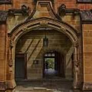 University Of Sydney Door Art Print