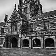 University Of Sydney Quadrangle  V5 Art Print