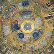 Unknown Artist, Cupola Of The Creation Art Print by Everett