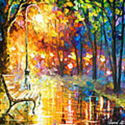 Unresolved Feelings - Palette Knife Oil Painting On Canvas By Leonid Afremov Art Print