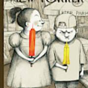 New Yorker May 27th, 2013 Art Print by Ana Juan