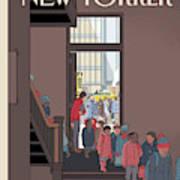 New Yorker January 7th, 2013 Art Print