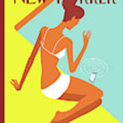 New Yorker August 9th, 2010 Art Print