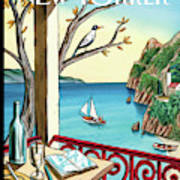 New Yorker April 18th, 2011 Art Print