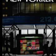 Newsstand Art Print
