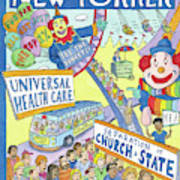 New Yorker September 24th, 2012 Art Print