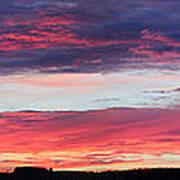 Untitled Sunset Art Print