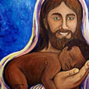 Unto You A Godly Son Is Given Art Print
