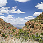Up From Jerome Arizona Art Print
