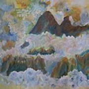Up On Cloud Nine Art Print