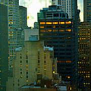 Up - Skyscrapers Of New York Art Print